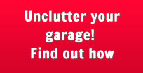 Unclutter your garage! Find out how