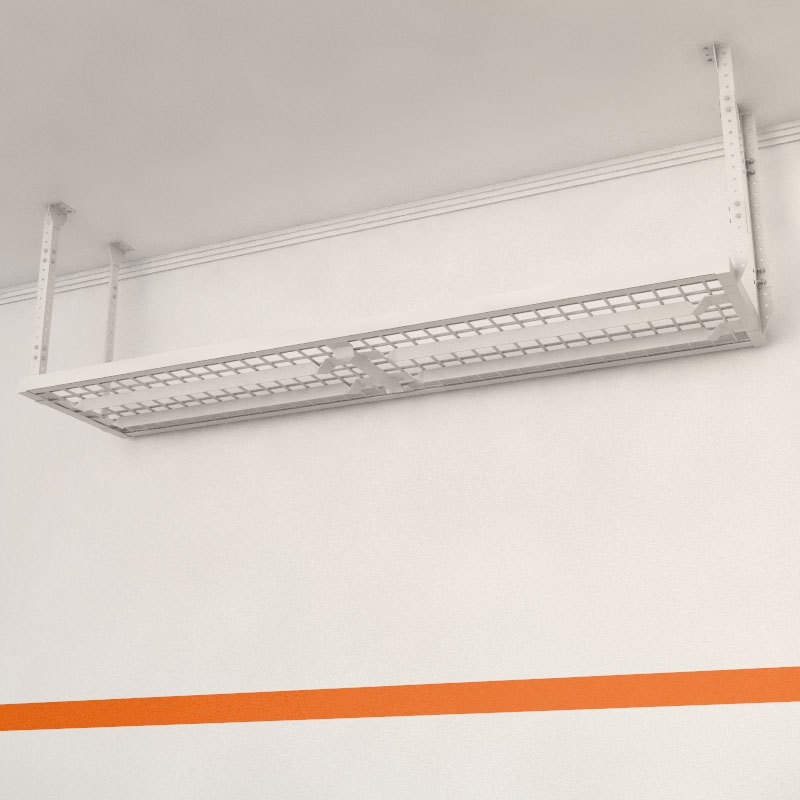 hyloft garage ceilings storage x mounted p d in racks unit ceiling white w